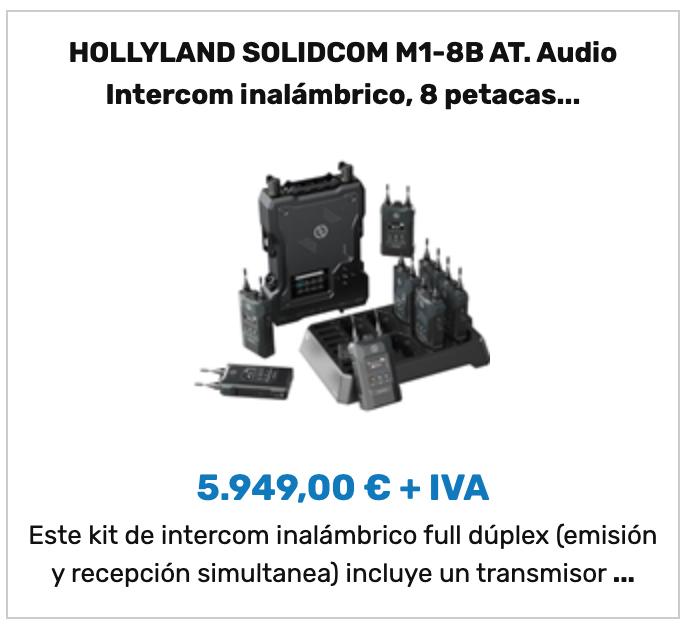 HOLLYLAND SOLIDCOM M1-8B