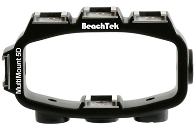 BEACHTEK MM5D Soporte Multimount Beachtek para cámaras EOS5D