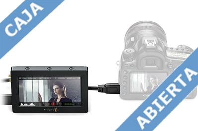 "BLACKMAGIC Video Assist. Grabador portátil HD con pantalla de 5""."