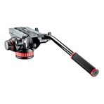 MANFROTTO MVH502AH Rótula de video PRO con base plana.