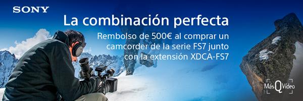 Promoción Sony PXW-FS7M2K