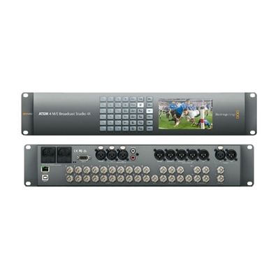 BLACKMAGIC ATEM 4 M/E Broadcast Studio 4K. Video Mixer