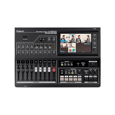 ROLAND VR-50HD Switcher Multiformato de vídeo 4 canales con 12