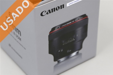 CANON EF 85 MM 1.2L II USM (Usado) Optica Canon EF 85 MM 1.2 L II ...