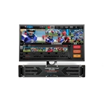JVC KM-IP4100 JVC Connected Cam. Mix/Replay/Streaming (4 canales)...
