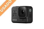 GOPRO HERO 8 BLACK (Usado) Mini cámara Go Pro HERO 8 BLACK....