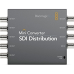 BLACKMAGIC Mini Converter, distribuidor (HD)-SDI, 1:8