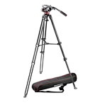 MANFROTTO MVK502AM Kit: rótula MVH502A, trípode MVT502AM y bolsa