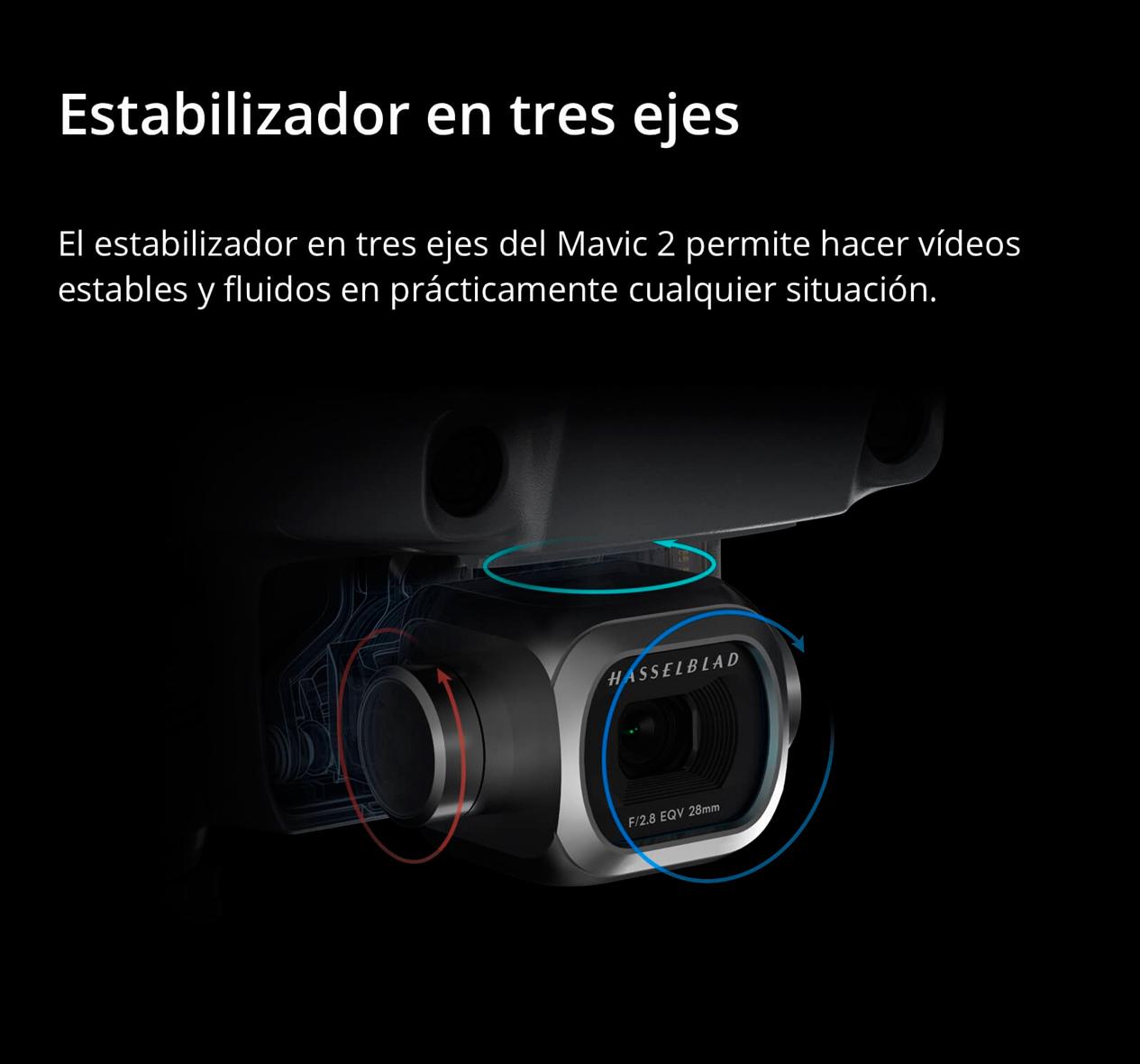 DJI MAVIC 2 PRO - Estabilizador en 3 ejes