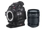 CANON EOS C100 DAF EF + 18-135mm f/3.5-5.6 IS  Camcorder actualiz