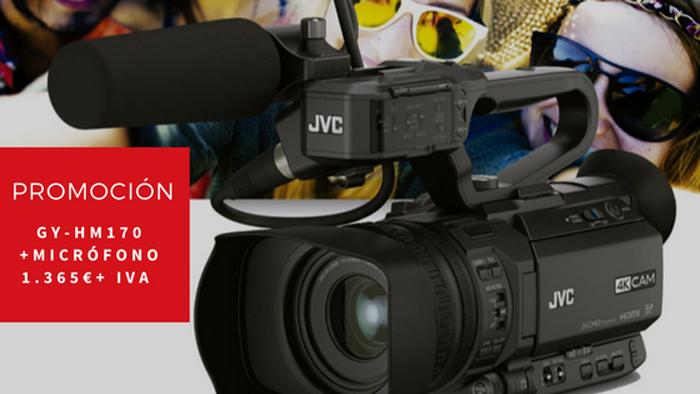 JVC GY-HM170 promoción