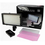 NANGUANG LED-240CH Antorcha de 240 leds bicolor.Adaptador NPF y LP...