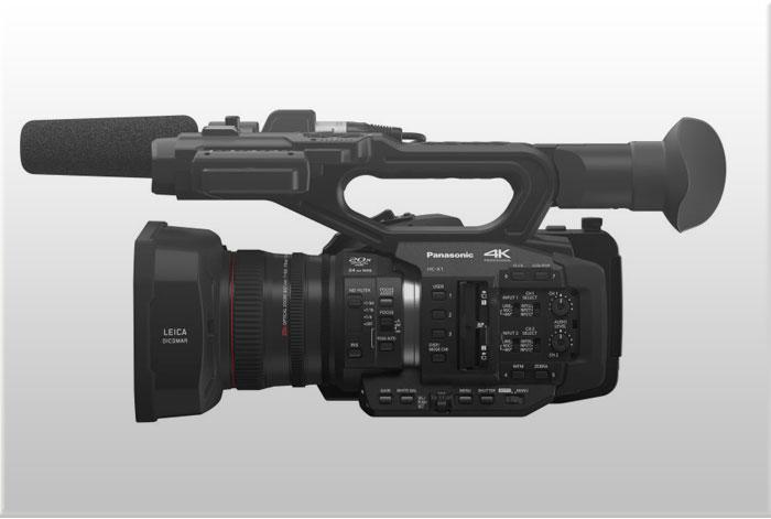 PANASONIC-HC-X1-Camcorder-4K-60p-50p-con-sensor-de-1-pulgada