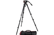 MANFROTTO 504HD 536K Kit: rótula 504HD, trípode de fibra de carbo