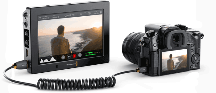 Blackmagic Design Video Assist 4K - 7 pulgadas características técnicas