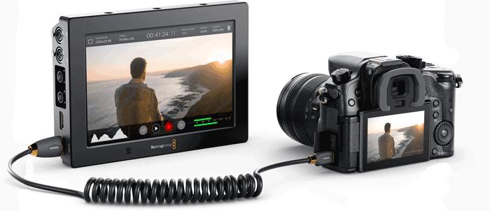 Blackmagic Design Video Assist 4K - 7 pulgadas características técnicas