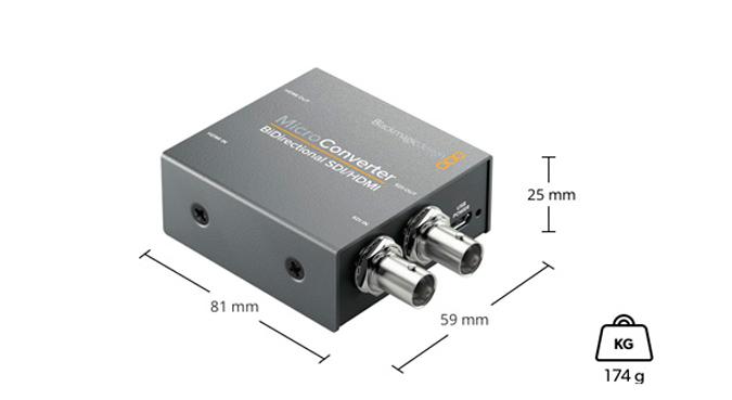 Blackmagic-MicroConverter-SDI-HDMI-SDI-especificaciones-fisicas