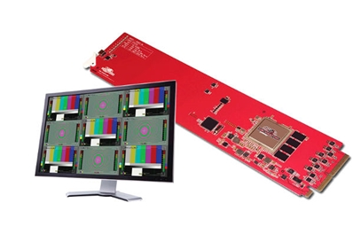 DECIMATOR DESIGN OpenGear 4 Channel Multi-viewer with SDI outputs