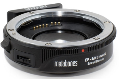 METABONES SPEED BOOST EF MFT Adaptador ULTRA de lentes EF para mo