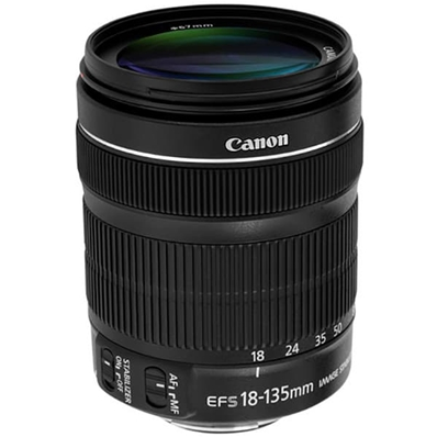 CANON EFS 18-135 IS STM Optica Canon EFS 18-135 IS STM.