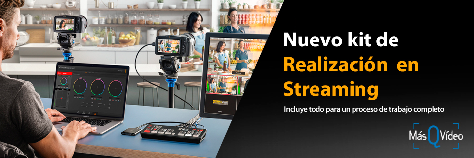 BLACKMAGIC KIT REALIZACIÓN EN STREAMING