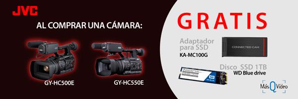 PROMOCIÓN JVC GY-HC500E OCT 19