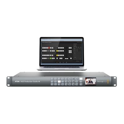 BLACKMAGIC ATEM 1 M/E Production Studio 4K. Mixer SD-4K.