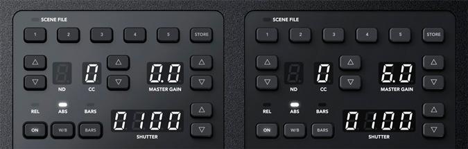 BLACKMAGIC-ATEM-Camera-Control-Panel-Control de cámaras y ajustes predeterminados