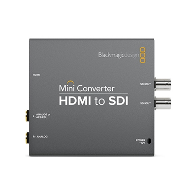 BLACKMAGIC Mini Converter HDMI a (HD)-SDI.