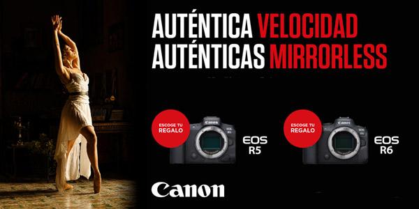 CANON EOS R6 PROMOCIÓN MAYO-JUNIO21