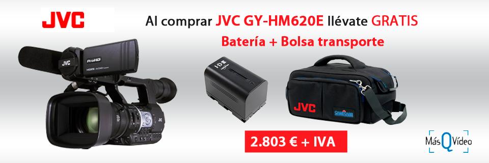 Promoción JVC GY-HM620E SEP18