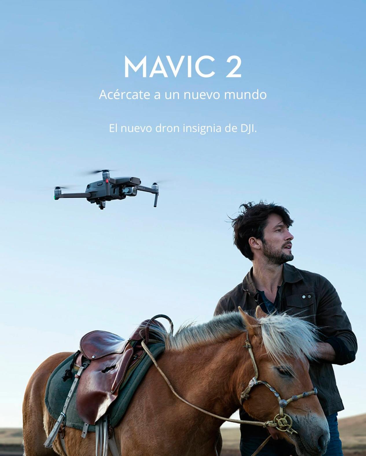 DJI MAVIC 2 PRO - Acércate a un nuevo mundo
