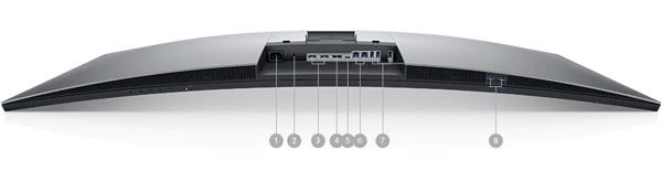U4919DW-Monitor-DELL-puertos-y-ranuras