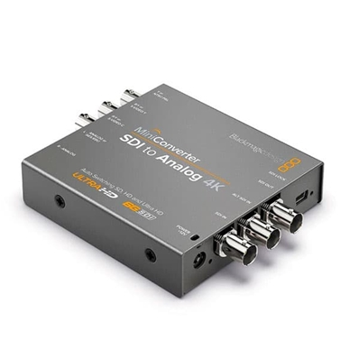 BLACKMAGIC Mini Converter, SDI a Analógico 4K....