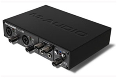 M-AUDIO MAUDIO. High-Definition 6-in/10-out FireWire Audio Interface.