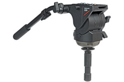 MANFROTTO 526 Rótula de video profesional FLUIDA PRO.