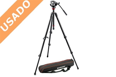 MANFROTTO 755XB (Usado) Trípode de video MDEVE aluminio...