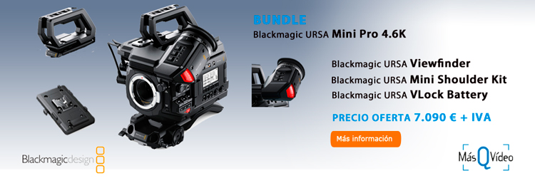 BLACKMAGIC URSA MINI PRO BUNDLE OFERTA
