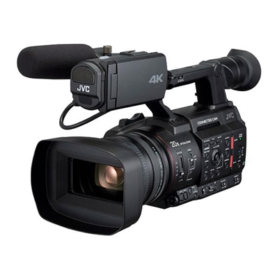 "JVC GY-HC500E Camcorder 4K. CMOS 1"". Zoom 20x. CONNECTED CAM"