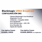BLACKMAGIC Kit Ursa Broadcast para ENG