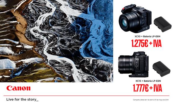 Promoción Canon XC15