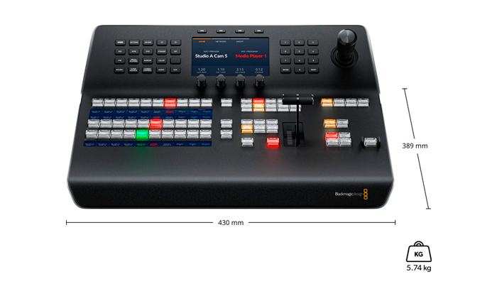 BLACKMAGIC-ATEM-1-ME-Advanced-Panel-especificaciones-fisicas.