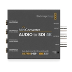 BLACKMAGIC Mini Converter, desembebedor SDI a Audio 4K....