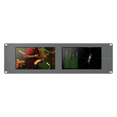 BLACKMAGIC SmartScope Duo 4K. Doble monitor 4K/HD analísis señal.