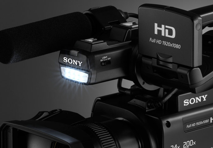 SONY-HXR-MC2500-CON-LUZ-INTEGRADA