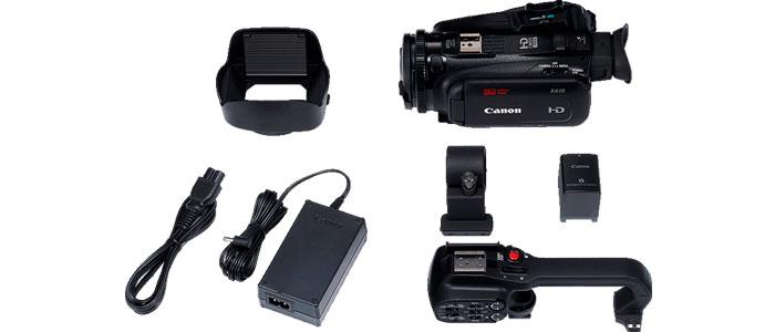 CANON XA11 Accesorios suministrados