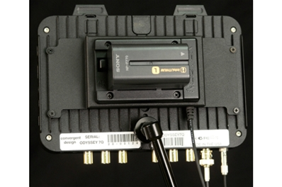 CONVERGENT DESIGN CD-OD-LPLATE Odyssey Battery Plate for Sony L-Serie