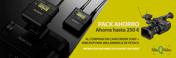 PROMO PACK AHORRO SONY CAMCORDERS + MICROFONO