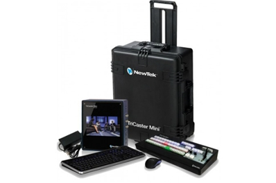 NEWTEK Bundle Tricaster Mini HD SDI+Control Surface+Maleta de pro