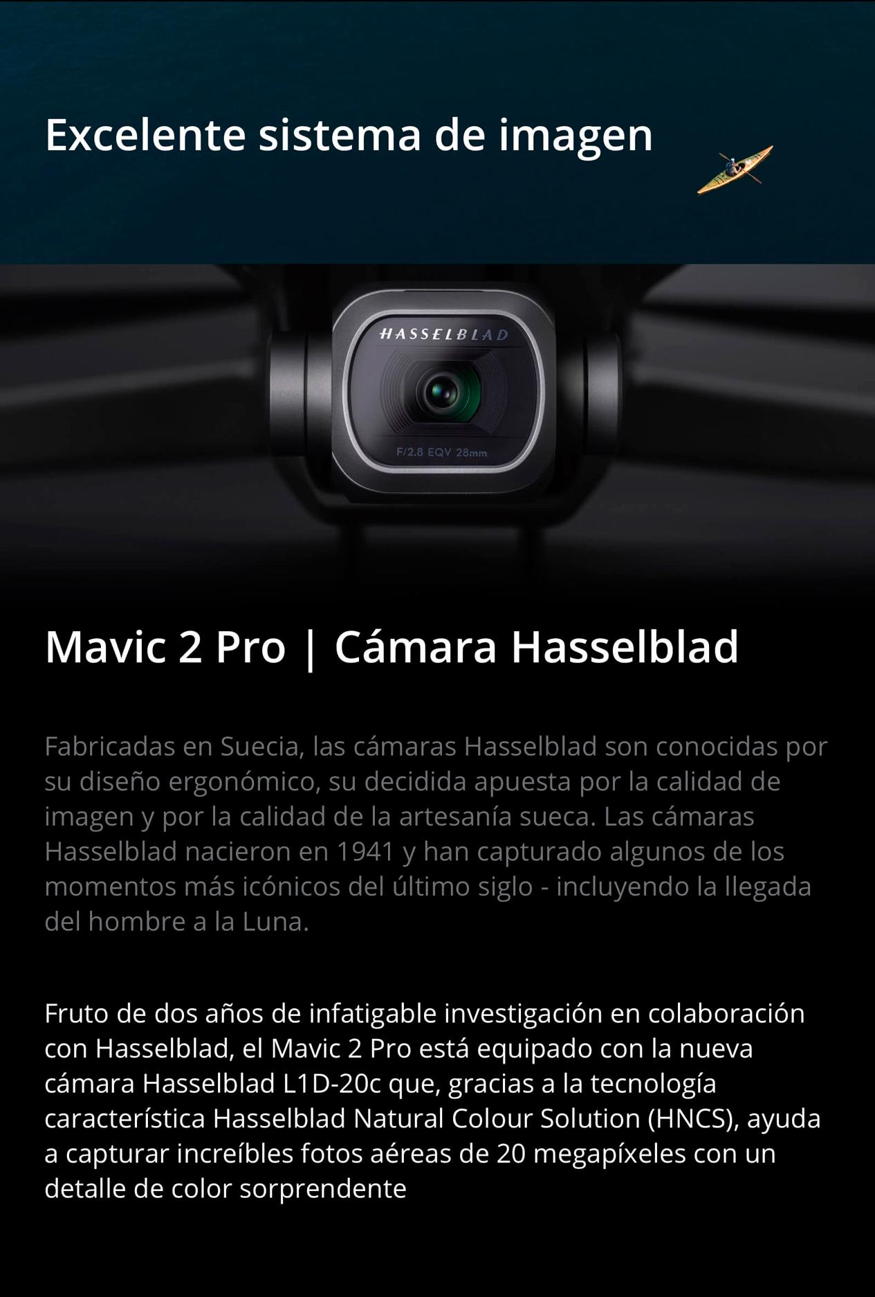 DJI MAVIC 2 PRO - Excelente sistema de imágen